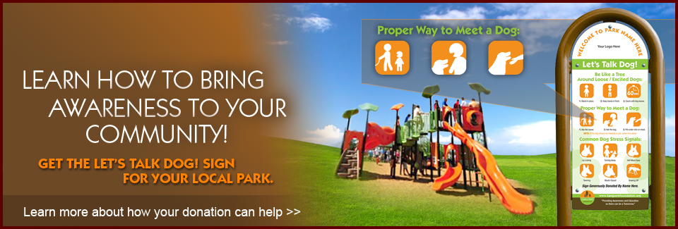 Liam J Perk Foundation Playground Sign